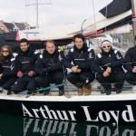 Arthur Loyd, partenaire de l'équipage Euromed Sailing
