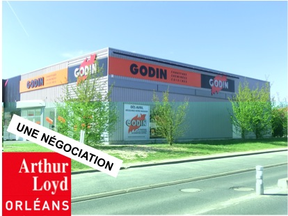 Local commercial location transaction Arthur Loyd Orléans immobilier entreprise orleans