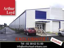 arthur loyd orleans propose un batiment industriel et commercial a louer